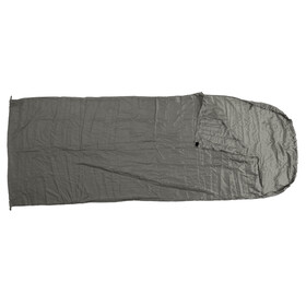 Basic Nature Sacco lenzuolo in raso Sacco lenzuolo a sacco grigio